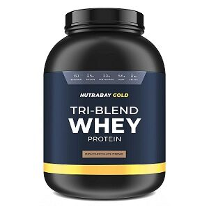 Nutrabay Gold Tri-Blend Whey Protein